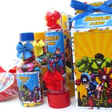 Kit Festa Infantil Vingadores