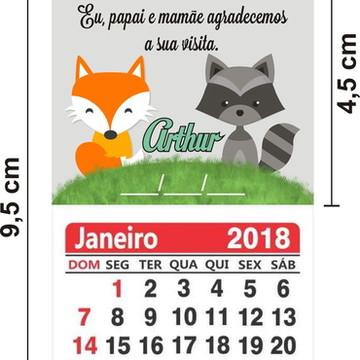 250 Imã de Geladeira com Calendário 2019