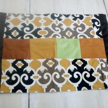 Tapete de retalhos de tapeçaria