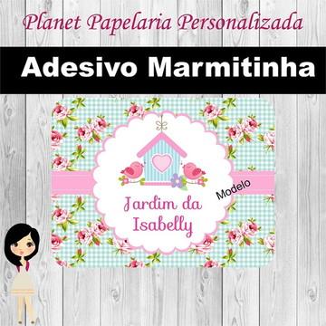 Adesivo Marmitinha Jardim Encantado