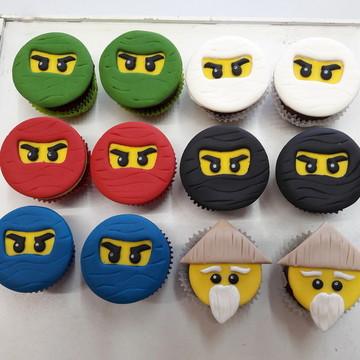 Mini cupcake Ninjago