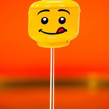 Toppers LEGO Enfeites para festa