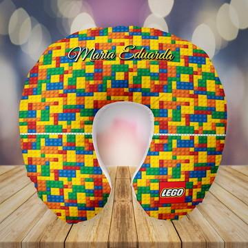 Almofada de Pescoço Personalizada no tema Lego