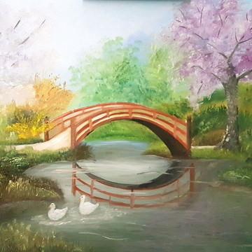 Ponte sobre o lago