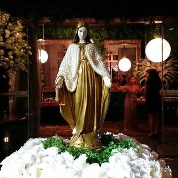 Nossa Senhora das Graças com pérola 65cm