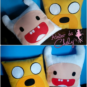 Kit Almofadas Jake e Finn