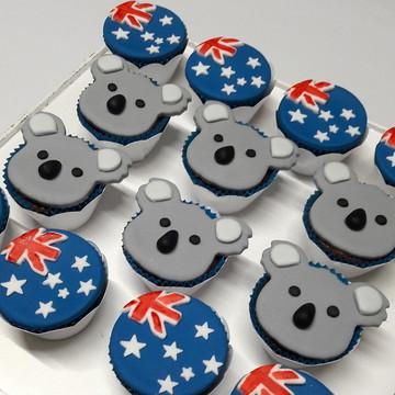 Mini cupcake Austrália | Coala