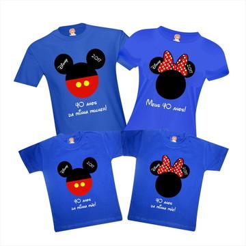 Camisetas Viagem Disney - Mickey e Minnie