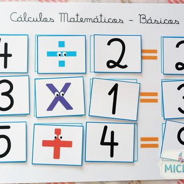 Jogo Educativo - Cálculos Matemáticos Básicos