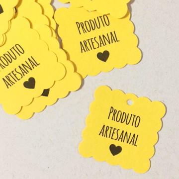 Tag Biscoito 'Produto Artesanal'