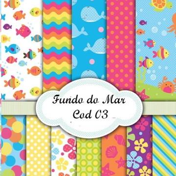 PAPEL DIGITAL FUNDO DO MAR
