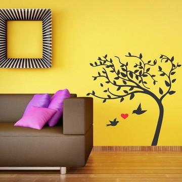 Adesivo de Parede Árvore amorosa