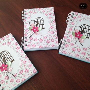 Caderninho Personalizado