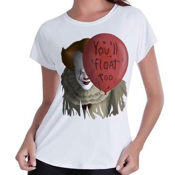 Camiseta Babylook Filme It a Coisa