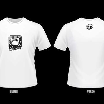 Camiseta Horóscopo - Câncer