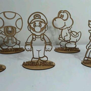 Enfeite Personalizado Super Mário Bros