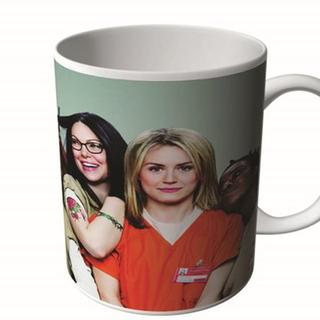 CANECA ORANGE IS THE NEW BLACK 2-9976