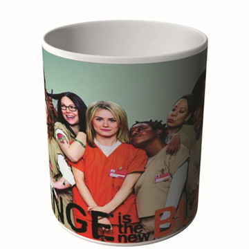 CANECA ORANGE IS THE NEW BLACK 3-9977