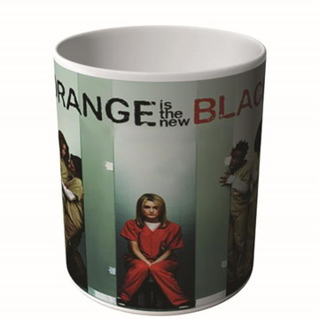 CANECA ORANGE IS THE NEW BLACK 4-9978