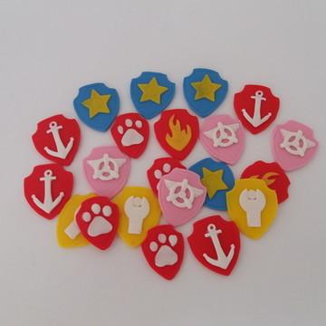 Apliques Escudo da Turma da Patrulha Canina Biscuit