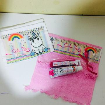 kit higiene unicornio