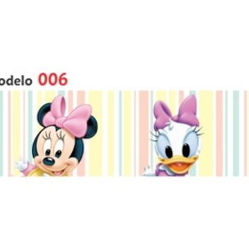 Adesivo faixa border infantil Baby Disney Margarida Mod006