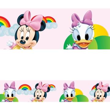 Adesivo border infantil Baby Disney Margarida Minnie Mod012
