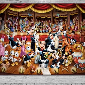 Painel Circo do Mickey - Frete Grátis