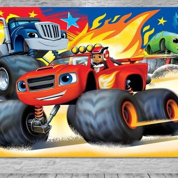 Painel Blaze Monster Machines-Frete Grá