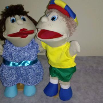Fantoche Maria e Joao