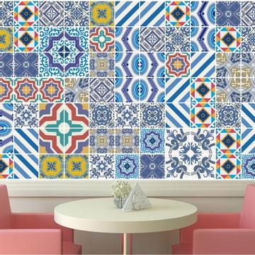 Papel de Parede Azulejo Cozinha 07