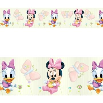Adesivo border infantil Baby Disney Margarida Minnie Mod042