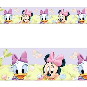 Adesivo border infantil Baby Disney Margarida Minnie Mod045