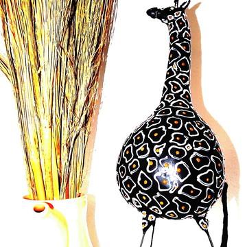 Enfeites Girafa Africana decorativa - Decoração safari
