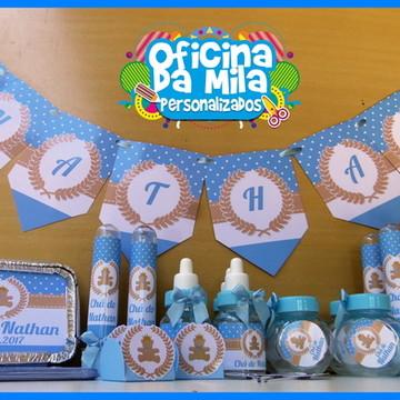 Kit Chá de bebê ursinho