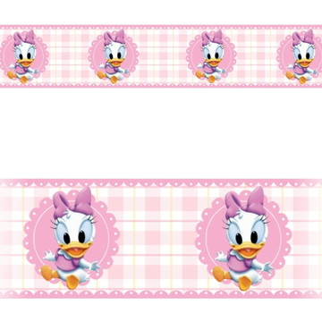 Faixa border Adesivo infantil Disney Margarida Baby Mod055
