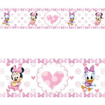 Adesivo faixa border infantil Disney Minnie Margarida Mod057