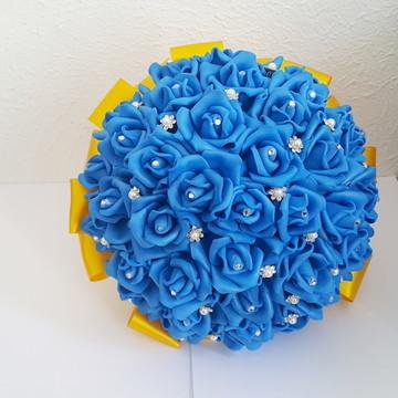 Buquê Grande Azul Royal