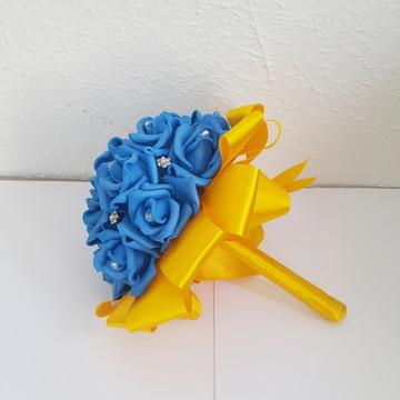 Buquê pequeno Azul Royal