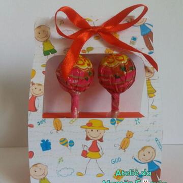 Caixinha Pirulito - Dia das Crianças