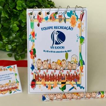 Kit Bloquinho para dia das Crianças Personalizados
