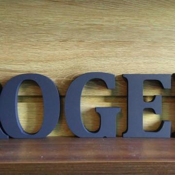 Letras Decorativas Nome em MDF ROGER em letra caixa
