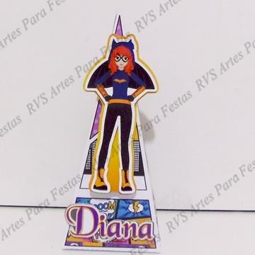Caixa pirâmide Batgirl - Superhero girl