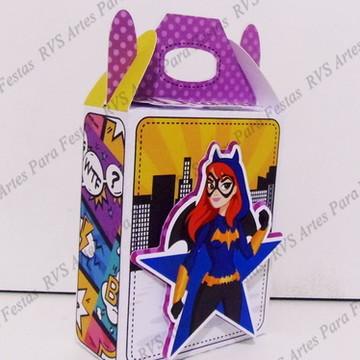 Caixa surpresinha Batgirl - Superhero girl