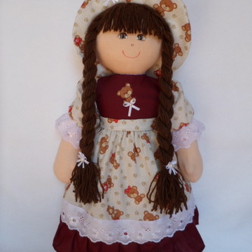 Boneca de pano boneca de pano