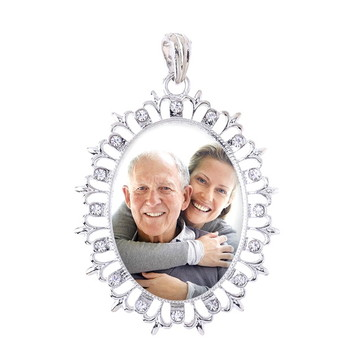 Medalha Buque Noiva Relicário com foto