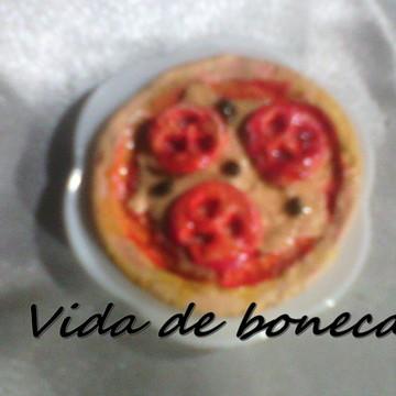 Pizza para bonecas