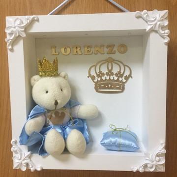 Enfeite de Porta de Maternidade Urso
