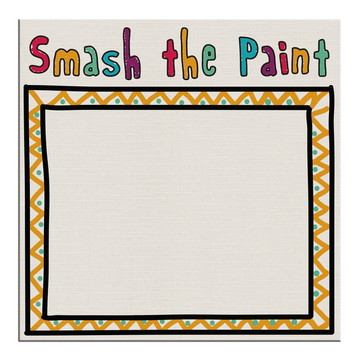 Tela De Pintura Smash The Paint