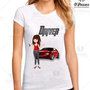 69e2cafc55 Camiseta Profissões - Driver Motorista
